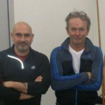 Sandro Cea con Philipp Bayer